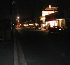 Howard Ave during power failure