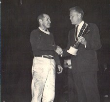 Jerry Ford and Bill Wiltse_trophy shot