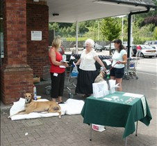 Treorchy Co-Op Fundraiser Many thanks to the staff and management for making us so welcome