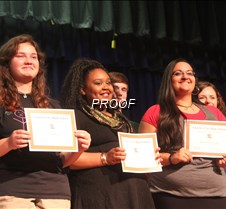 CCHS Academic Awards, Sept. 29, 2014