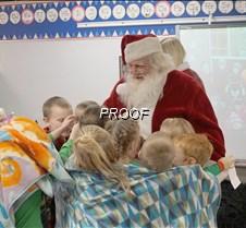 Santa at MAES