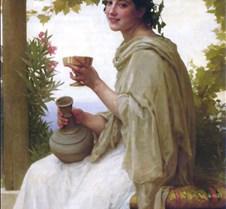 Bacchante-William-Adolphe Bouguereau-189