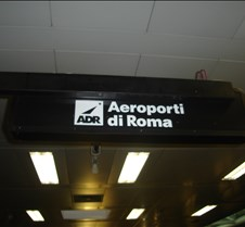 FCO - Airport Sign