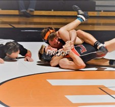 wrestling Zane Brosowske @160 win agains