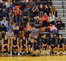 basketball boys bench