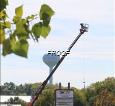 Pelicn industrial park sign