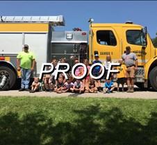 done bible school fire truck
