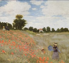 Poppies-Claude Monet-1873-Musee d'Orsay