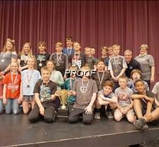 Sixth grade tug of war winner