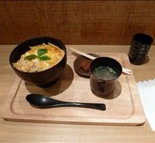 Dinner at Tori Sanwa