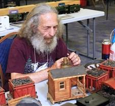 Bob Starr Working On His Locomotive
