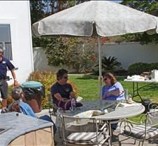 Relaxing in Mark Kelly's Backyard