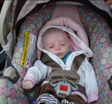 Falling Asleep In Her CarSeat