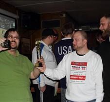Presenting Trophies