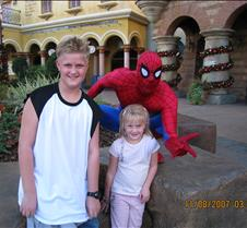 Tyler & Jaxy with Spiderman