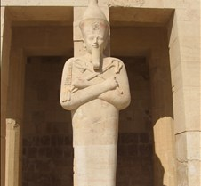 Hatshepsut as Osiris w/false beard