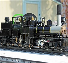 Howard Maculsay's 2-Cylinder Shay Loco