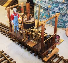 Phil Oldenhage's Scratch Built Loco