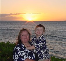 Auntie Karen and Grant at Sunset