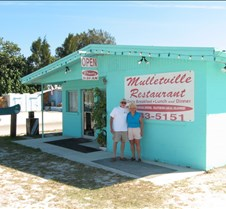 We had breakfast at Mulletville