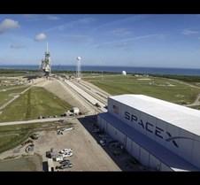 SpaceX Pad and Hangar