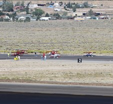 Reno Air Races 2010 - Biplanes The 2010 Reno National Championship Air Races and Air Show took place September 15 thru the 19th at Reno Stead Airport in northern Nevada. There are seven racing classes. The photos in this sub-album are of the Biplane class which flies a 3.17 mile course.