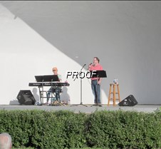 Music in the Park concert
