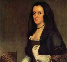 The Lady with a Fan - Diego Velázquez -