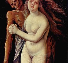 155Death and the Maiden-Hans Baldung Gri