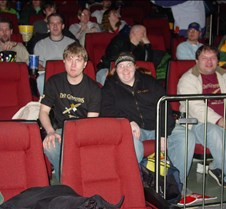 Aaron,Patty,Mark in theatre (Friday)