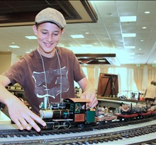Patrick McConnell & His Live Steam Loco
