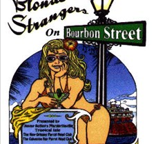 Blonde Strangers on Bourbon St logo