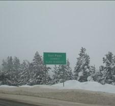 Vail Pass Sign