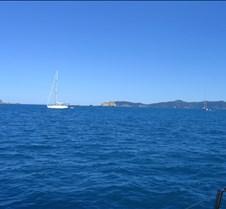 Sailing to St John from St Thomas