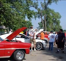 Car show visitors