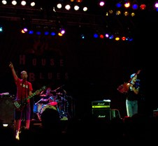 "2004-08-22 Presidents of the USA @ Anaheim HOB Well, it seemed like everybody else knew that this ""9:30"" show was going to start at 9 PM, so I did not have a good spot to take pictures with the camera that I snuck in, and then security seemed to be watching me like a hawk!  These pictures did not come"