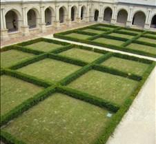 Abbaye le Fontevraud - Cloister Gardens