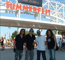 2003-07-05 DLR Band at Summerfest
