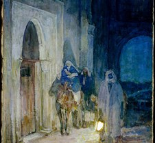 Flight Into Egypt - Henry Ossawa Tanner