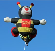 "One Of The Wells Fargo ""Hare"" Balloons"
