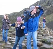 Giant's Causeway Two trips up to Northern Ireland and the Giant's Causeway with the University of Notre Dame Ireland program