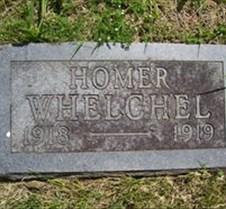 Homer Whelchel headstone