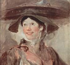 The Shrimp Girl - William Hogarth - 1740