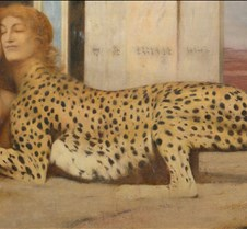 Caress-Fernand Khnopff-1896-Royal Museum