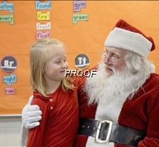 Santa at MAES 4