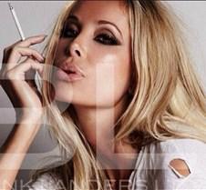 Monica Hansen Smoking