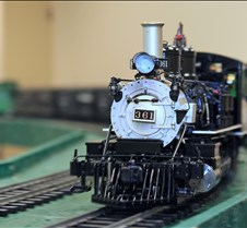 Live Steam Train at NSS-2011