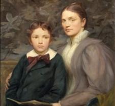 Mrs William T Evans & Son-Henry O Walker