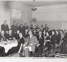 1941 Glenwood Lions Ladies night