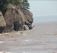 High tide at North Beach